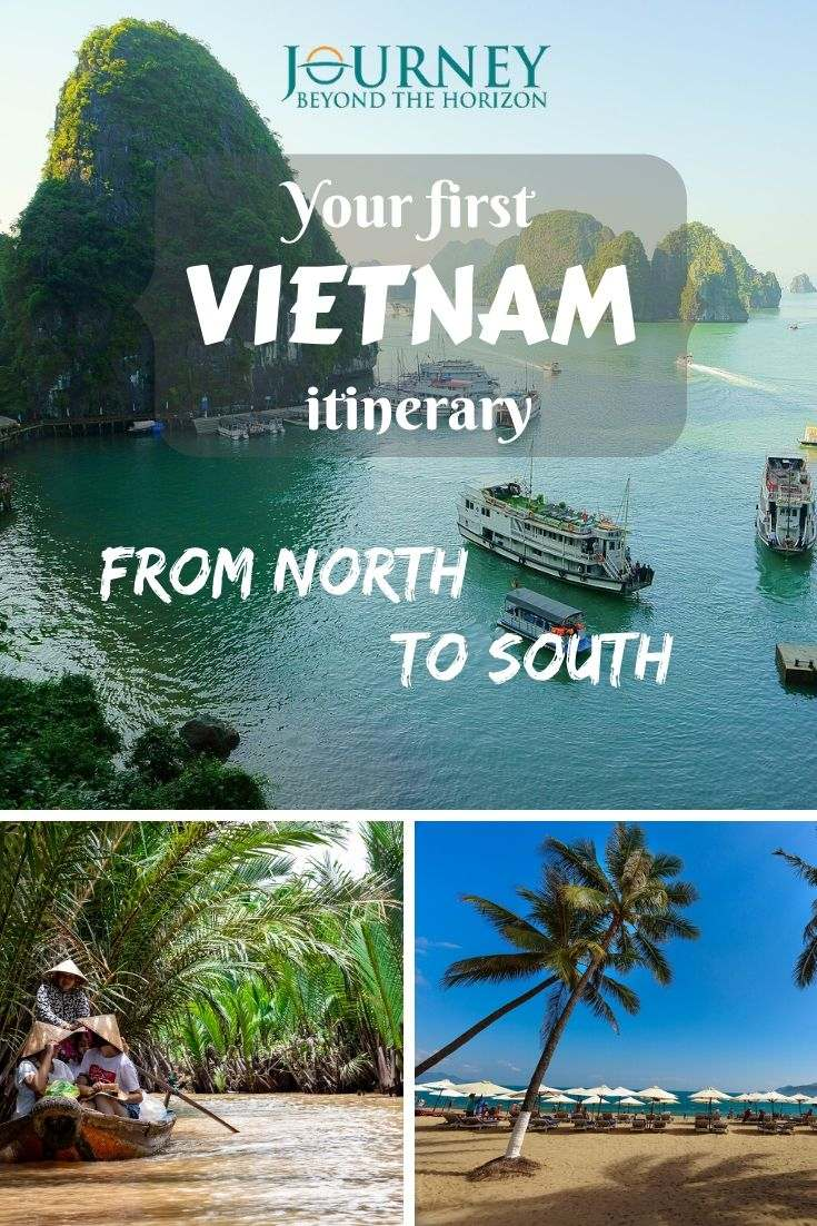Plan your first Vietnam itinerary, on the main route along its sea coast, from Hanoi to Ho Chi Minh (Saigon)!