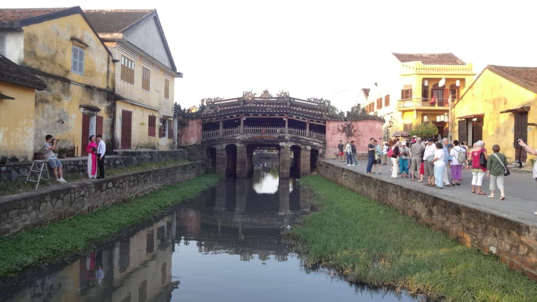 Vietnam, Hoi An, The Japanese bridge