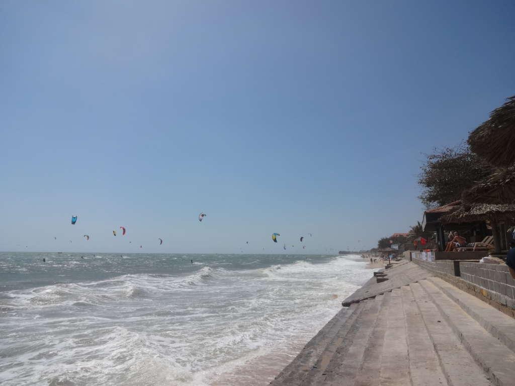 Vietnam, Mui Ne, kitesurfing paradise