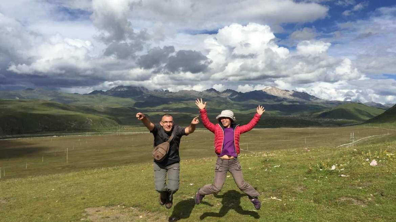 Journey beyond the horizon, Krasen and Ying Ying in Tagong