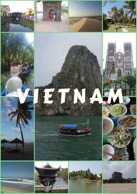 Vietnam is a country in Southeast Asia, famous with its seacoast, tropical areas and rich history.
