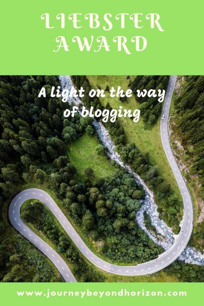 Liebster Award- a light on the way of running a travel blog