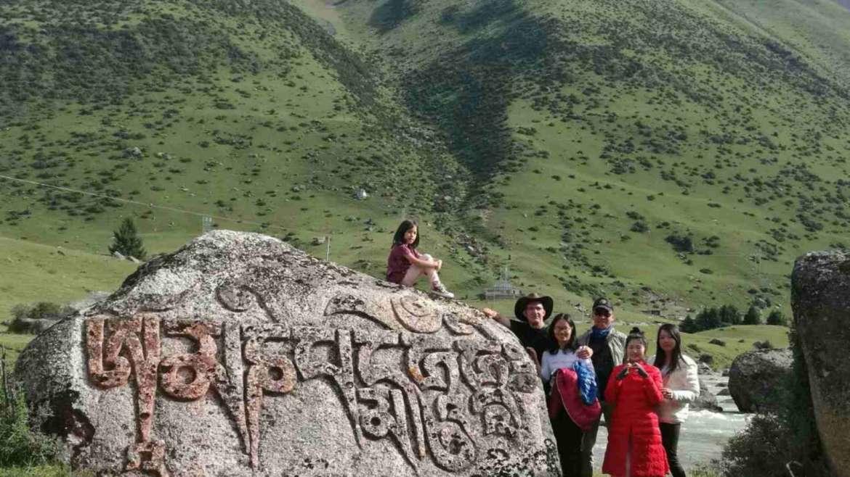 Liebster Award- at Yilhun Lha Tso lake, Tibet