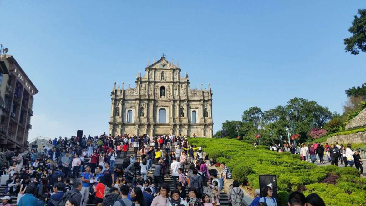 Explore South China! The old center of Macau