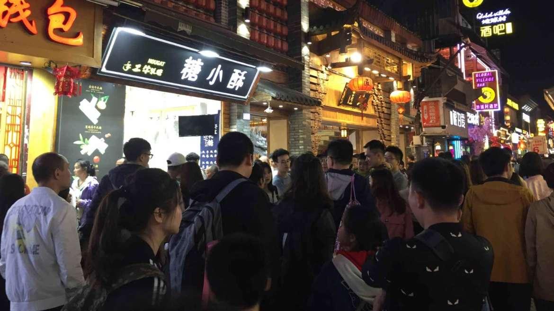 Explore South China! Night street in Yangshuo, Guangxi