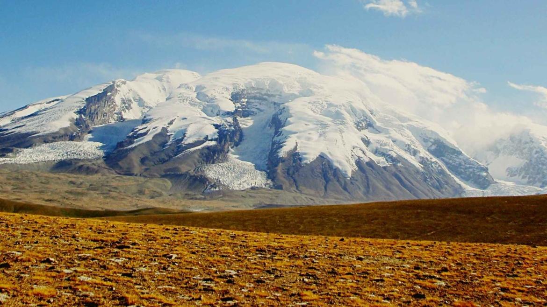 Xinjiang travel- Muztagh Ata peak in Pamir