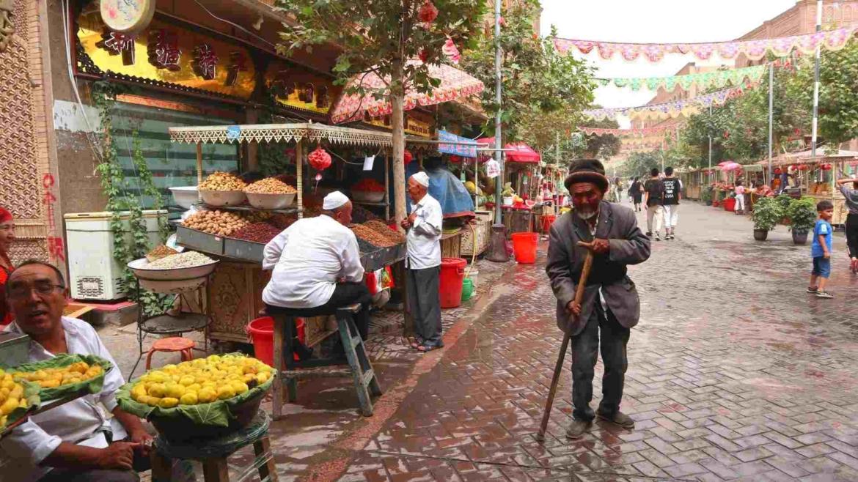 Xinjiang travel- local life in Kashgar