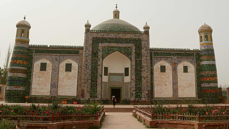 Xinjiang travel- Afaq Khoja Mausoleum in Kashgar
