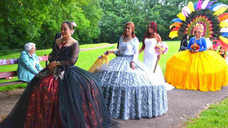 A Spanish culture influenced festival