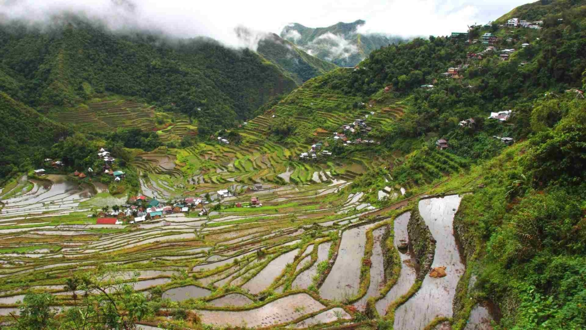 The rice terraces of Banaue, Northern Luzon