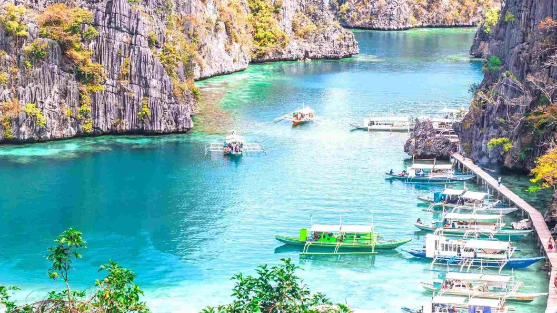 Lagoon in Coron