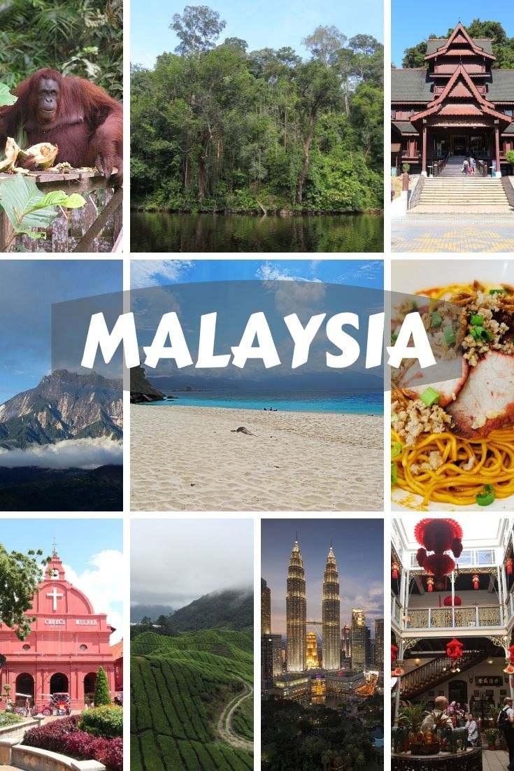 Malaysia is a country in Southeast Asia, with the capital Kuala Lumpur, divided in Western (Peninsular) and Eastern parts