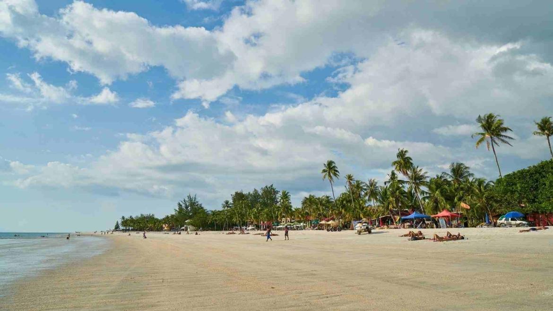 A beach on the eastern coast in the Malay Peninsula
