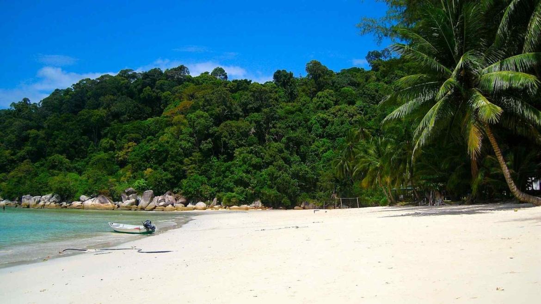 A beach in Perhentian Islands