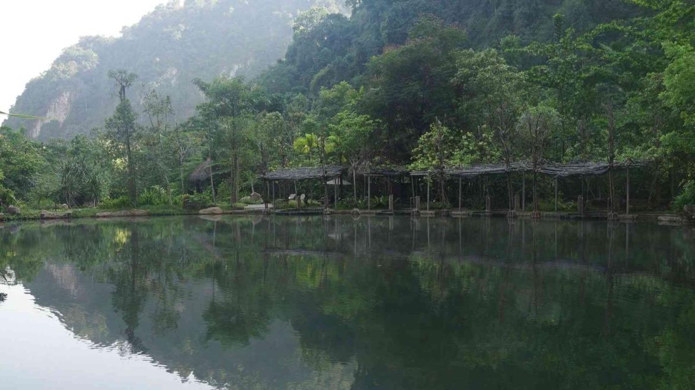 Karst hills area