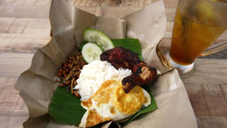 Nasi Lemak, a national Malaysian meal