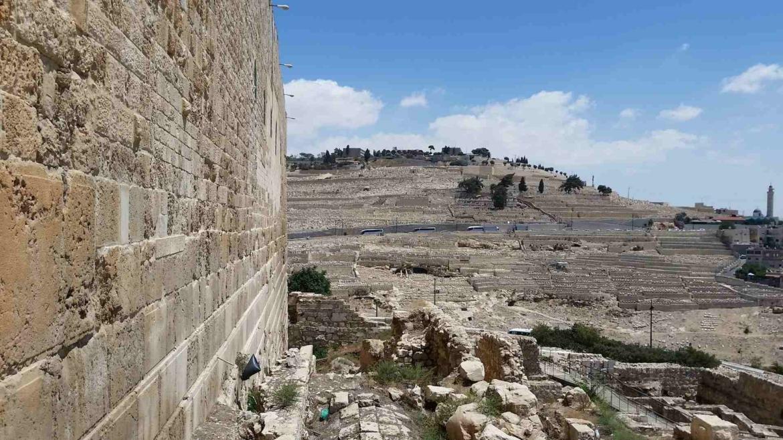 Ancient history remains in Jerusalem, Israel