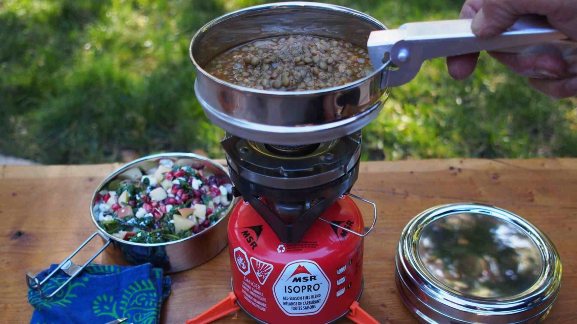 Cooking set is an important camping accessory