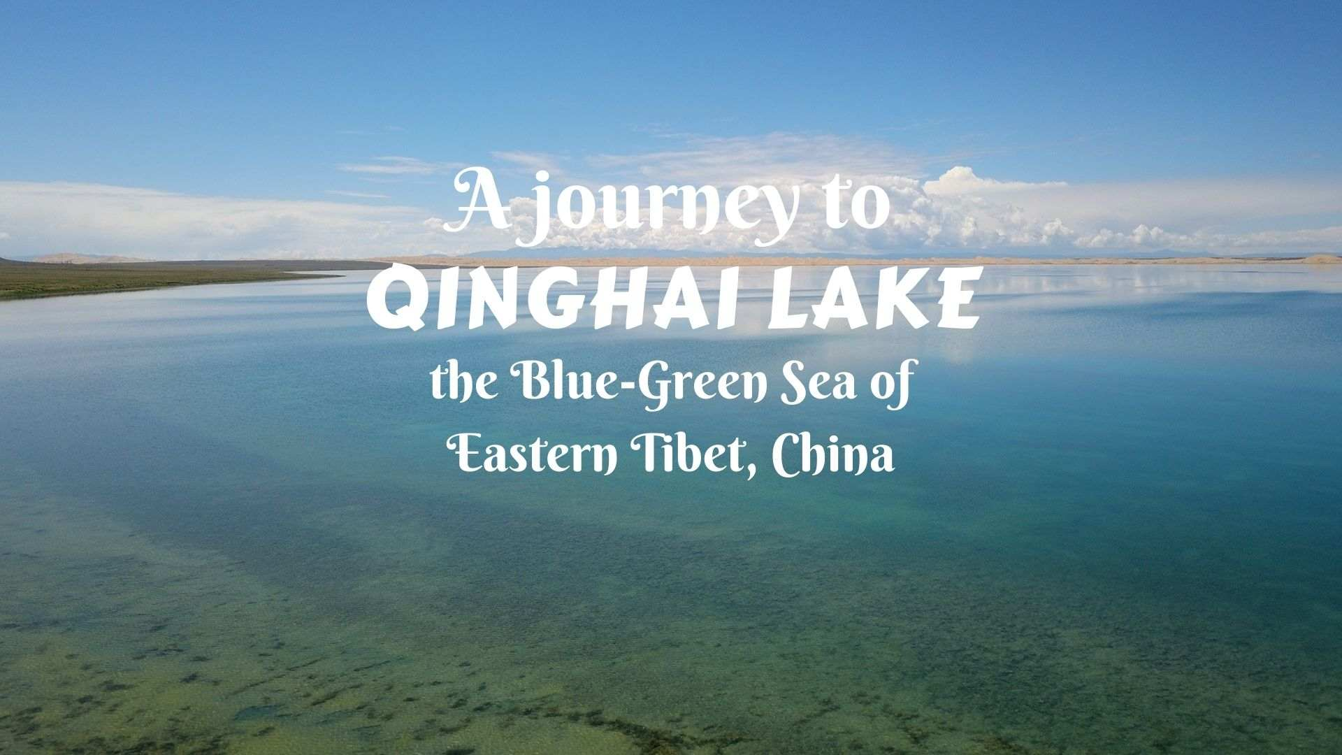 A journey to Qinghai Lake- the Blue-Green Sea of Eastern Tibet